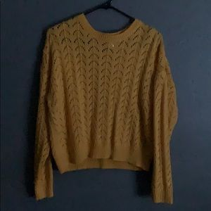 Worn once cute yellow sweater